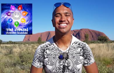Uluru Cosmic Heart - Light Language Activation - Tim Zyphin